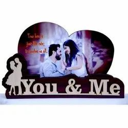 You & Me, Happy Anniversary, Best Couple & Happy Birthday Wooden Photo Frame
