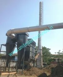 Dust Collection System With Dual Cyclone Separator
