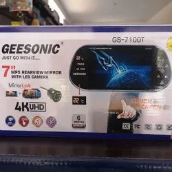 Geesonic Power Cable Car Rear View Mirror Camera, Screen Size: 7 Inches, Model Name/Number: 7100T