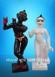 Iskcon Radha Krishna Ji Marble Statue
