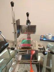 Manual Capsule Filling Machine 100 Holes
