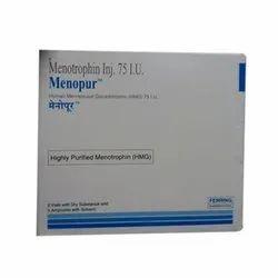 Menopur Menotropin HMG Highly Purified