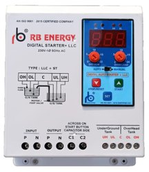 Single Phase Digital Control Panel with Water Level Controller On Delay Timer