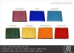 Chakra Stick Candles