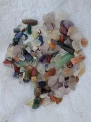 Mix Agate Polish Chips, For Reiki Healing Crystals