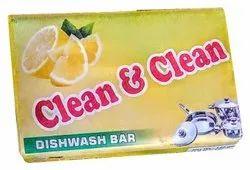 Clean & Clean Solid Lemon Utensils Dishwasher Bar, Packaging Size: 190 Gm