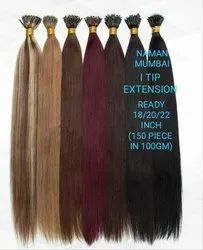 Brown And Black I-Tip Hair Extension For Women And Girl
