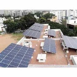 Elecssol Inverter-PCU Solar Power Plant For Hospital, For Government