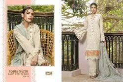 Sobiya Najir Designer Embroidery Salwar Suit
