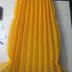 Green,Yellow Hexagonal Plastic Sericulture Net