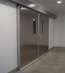 Metal Closet Doors Sliding Stainless Steel Door, For industries, Interior