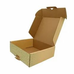 Brown Rectangular 5 Ply Corrugated Paper Box, Size(LXWXH)(Inches): 8x6x4 Inch (lxwxh)