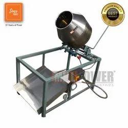 Semi-automatic Electric 100 Kg/batch Groundnut Roaster Machine Price, Ss 304, 1hp