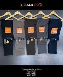 Multicolor Regular Men Cotton Pant