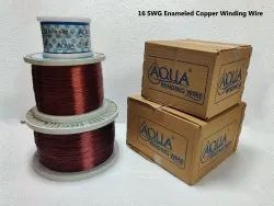 16 SWG Enameled Copper Winding Wire