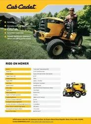 Lawn Tractors And Ride On Mower