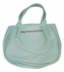 Handbags Green Stylish Hand Bag, For Office