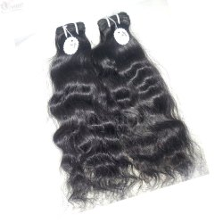 Wavy Virgin Temple Hair