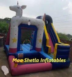 Deer Shape Inflatable Bouncy Castle
