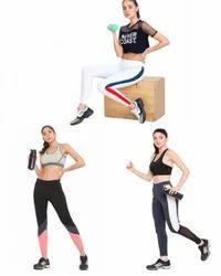 Mid Waist Sport Legging/ Tights, Skin Fit