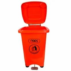 Plastic Pedal Dustbin Foot Operated