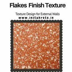 Flakes Texture Wall Finish