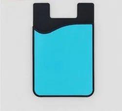 Pocket Silicone Mobile Credit Card Holder