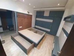 Plywood Bedroom Interior Designing Service