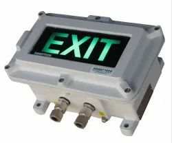 Flameproof Emergency Exit Light Sign