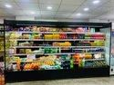 Refrigerated Display Multi- Deck Open Chiller For Supermarket