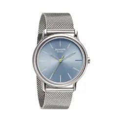 NN7128SM06 Sonata Men Sleek Teal Dial Stainless Steel Watch
