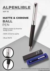 Matte & Chrome Ball Pen Alpenlible