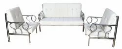 White DS 239 Sofa Set, For Home