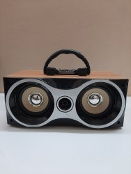 Portable Bluetooth Wooden Speaker