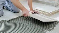 Floor Tile Installation, in Residential, Area: 1000