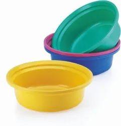 Round Plastic Basin