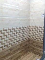 Kajaria 18X12 bathroom tiles