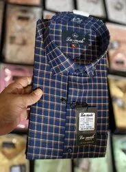 Formal Wear Check Men Designer Shirt