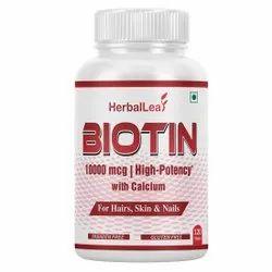 HerbalLeaf Tablet Biotin High Potency, 120 Tablets, Prescription