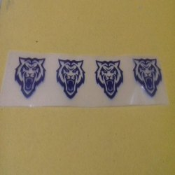 Printed Garment Sticker