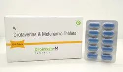 Drotaverine hcl-80mg - Mefenamic Acid- 250 mg - DROKYVEN M