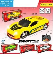 Red White Green Yellow Child Toy Car, No. Of Wheel: 4