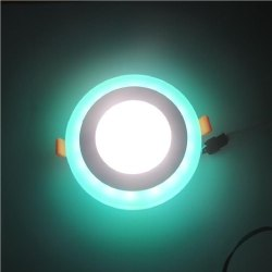 6 Watt D'Mak Round Double Color LED Conceal Panel