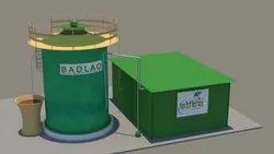 预制Badlao模型沼气单元,用于工业,植物尺寸:10-100cum