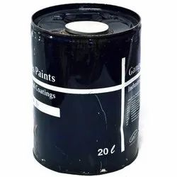 High Gloss Black Coating Industrial Paint, Liquid, Packaging Size: 20 Liter