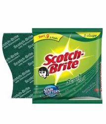 Scotch Brite Scrub Pad, 3 X 3 Inches