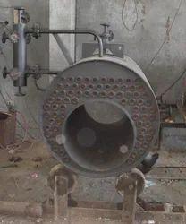 Oil & Gas Fired 500 kg/hr 3 Pass Horizontal Smoke Tube SIB Boiler IBR Approved