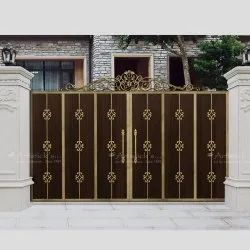 contemporary House front gate