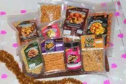 REGULUS Vegetarian Roasted Snack Gift Hampers Pack of 9, Packaging Size: 100 Grams