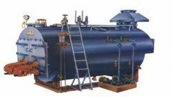 Oil & Gas Fired 7000 Kg/hr Fully Wetback Steam Boiler IBR Approved